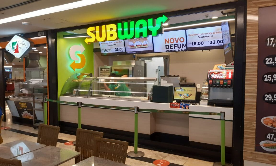 Sub Way do Pátio Brasil Shopping, Comércio Brasilia