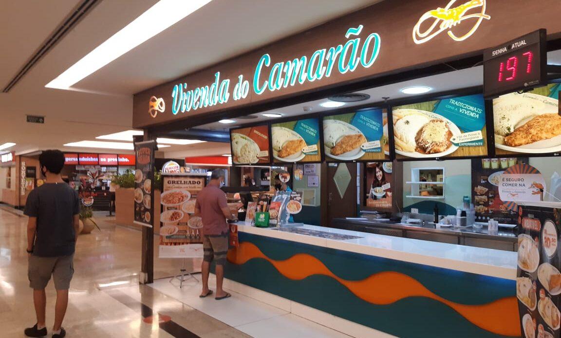Vivenda do Camarão do Pátio Brasil Shopping, Comércio Brasilia