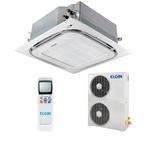 Ar Condicionado Split Cassete Elgin 360° Atualle Eco 60.000 BTU/h Quente e Frio Trifásico 45KTQI60B2IC – 220 Volts