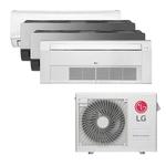Ar Condicionado Multi Inverter LG 30.000 BTUS Q/F 220V +1x High Wall Libero 7.000 BTUS +2x High Wall Art Cool Display+Wi-Fi 12.000 BTUS +1x Cassete 1 Via LG 18.000 BTUS