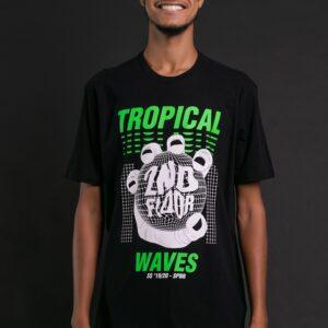Camiseta Ellus 2Nd Floor Co Basic Tropical Ref:25Sc1068