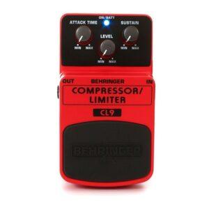Pedal para Guitarra Behringer CL9 Compressor e Limiter