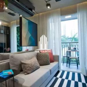 Apartamento com 1 dormitório a 5 minutos da Estação Granja Julieta à venda
