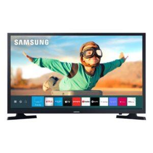 "Smart Tv Samsung 32"" Tizen Hd 2020 Un32t4300agxzd Conversor Digital W"