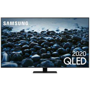 "Smart Tv Samsung Qled 4k Q80t 75"" Modo Game Modo Ambiente 3.0 Borda I"