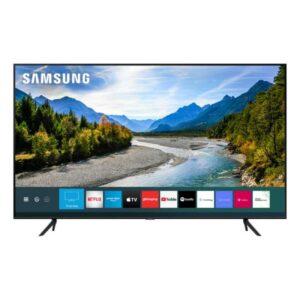 "Smart Tv Samsung 50"" Qled Q60t Borda Ultrafina Design Com Cabos Escon"
