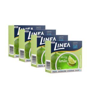 Kit Linea Gelatina De Limão 10G - 4 Unidades