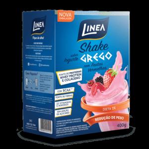 Linea Shake De Iogurte Com Frutas Vermelhas 400G