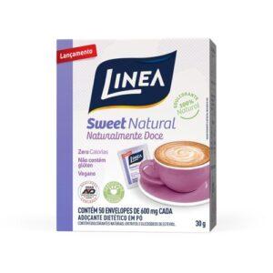 Linea Adoçante Sweet Natural Em Pó 50 Sachês