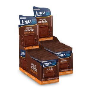 Kit Linea Mini Chocolate Ao Leite Zero Lactose  13G - 30 Unidades - Kit Linea Mini Chocolate Ao Leite Zero Lactose 13G - 30 Unidades