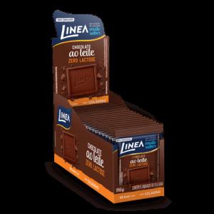 Linea Mini Chocolate Ao Leite Zero Lactose  13G - 15 Unidades