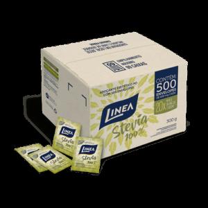 Linea Adoçante Em Pó Stevia 500 Saches