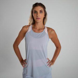 Regata de Poliéster Feminina Fitness Cardio 120
