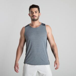 Regata de poliamida masculina Fitness 510