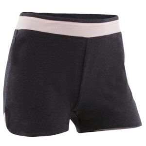 Shorts de algodão feminino infantil de Ginástica 500