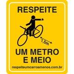 Plaquinha de Sinalização para Bicicleta