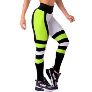 Calça Legging Feminina Poliamida Moda Fitness - Feminino-Mescla