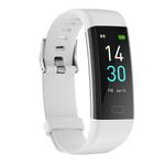Runmifit S5 Smartwatch Health Monitor Banda Smartwatches Branco relógio inteligente de Fitness Traker sem fio à prova d'água Ios Android