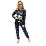 Pijama Recco Comprido Malha Dry Loungewear Feminino