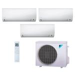Ar Condicionado Multi Split Inverter Daikin 24.000 BTUs (3x Evap HW 12.000) Quente/Frio 220V