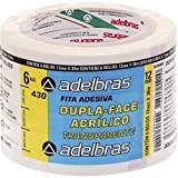 Fita Dupla Face, Adelbras 0639000002, Multicor, Pacote de 6