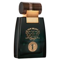 New Brand Prestige Gold Perfume Masculino Eau de Toilette