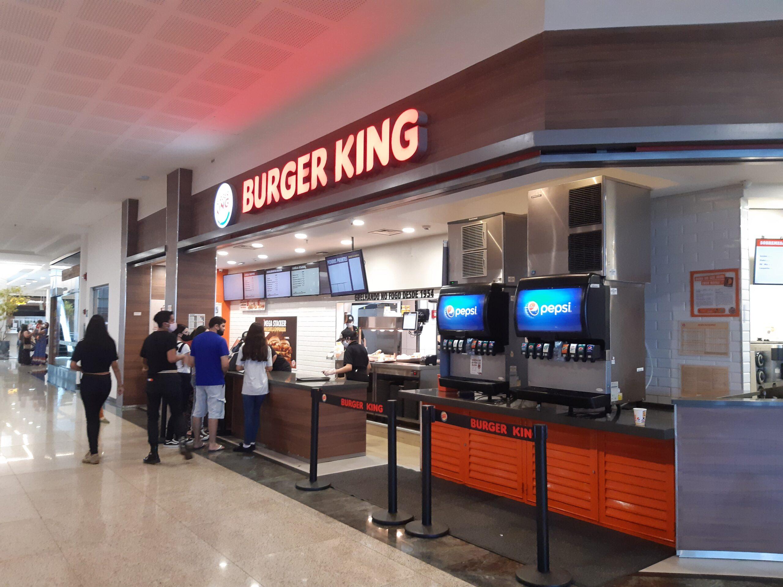 Burger King do Taguatinga Shopping, Comércio Brasilia