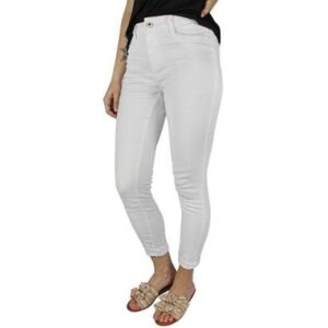 Calça Jeans Feminina Instinto Branco - Feminino-Branco