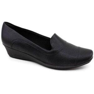 Sapato Anabela Piccadilly 144059 - Feminino-Preto
