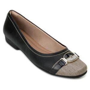 Sapato Piccadilly PD20-2510 - Feminino-Preto