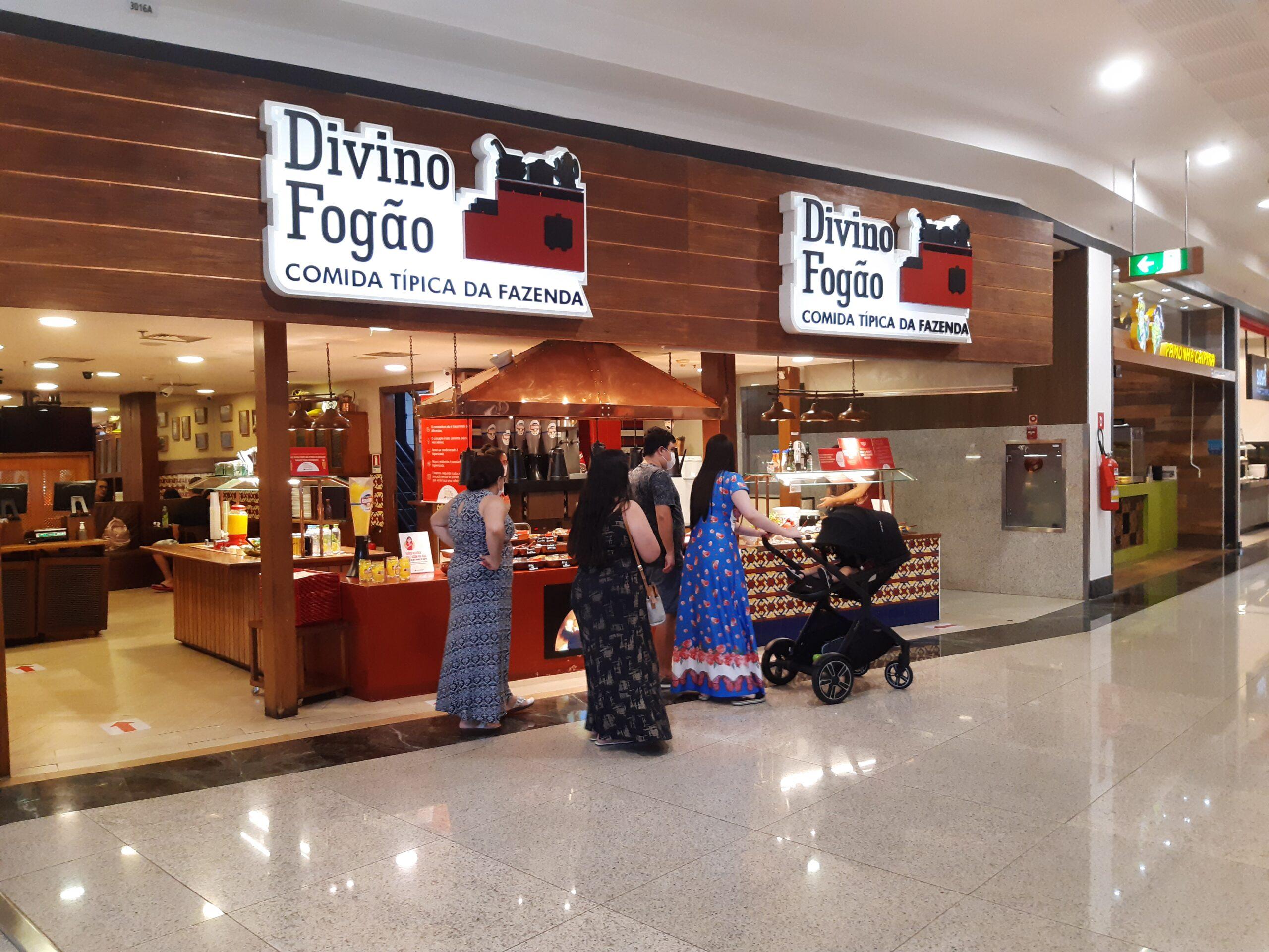 Divino Fogão do Taguatinga Shopping, Comércio Brasilia