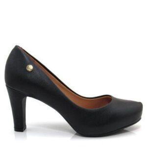 Sapato Vizzano Napa London - Feminino-Preto