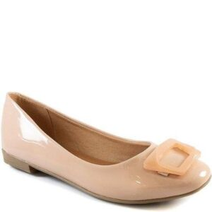 Sapatilha Sapato Show Feminina - Feminino-Nude