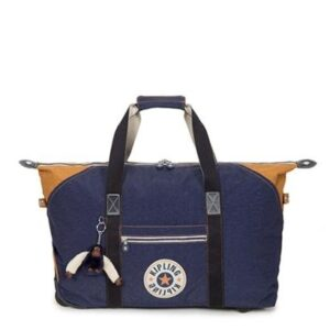 Bolsa Kipling Art On Wheels M Feminina - Feminino-Azul