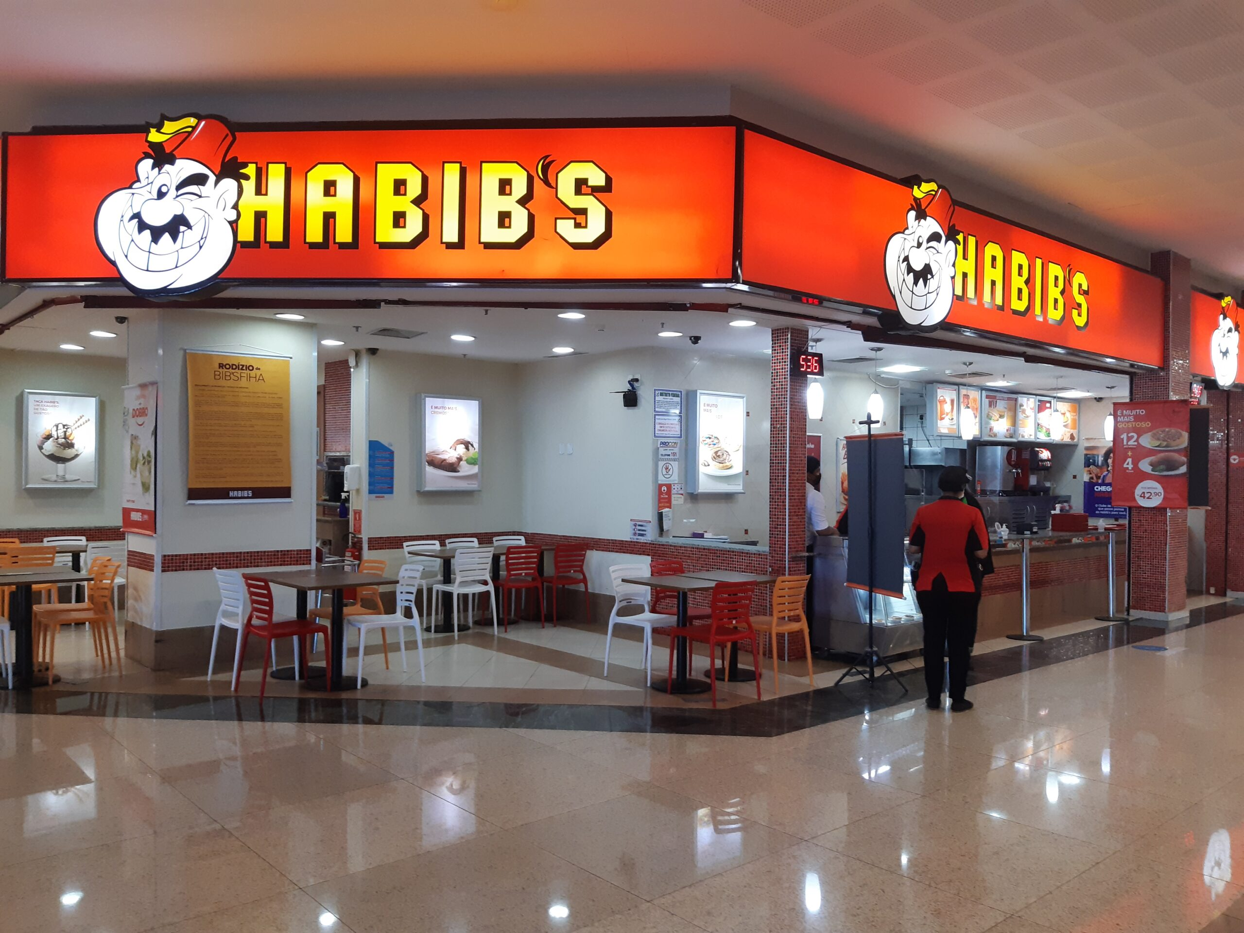 Habibs do Taguatinga Shopping, Comércio Brasilia