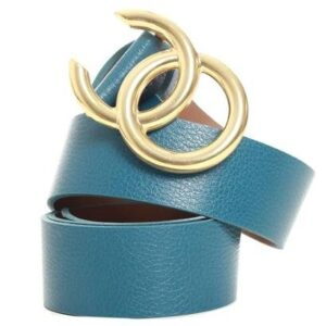 CINTO BIRO ART - Feminino-Azul