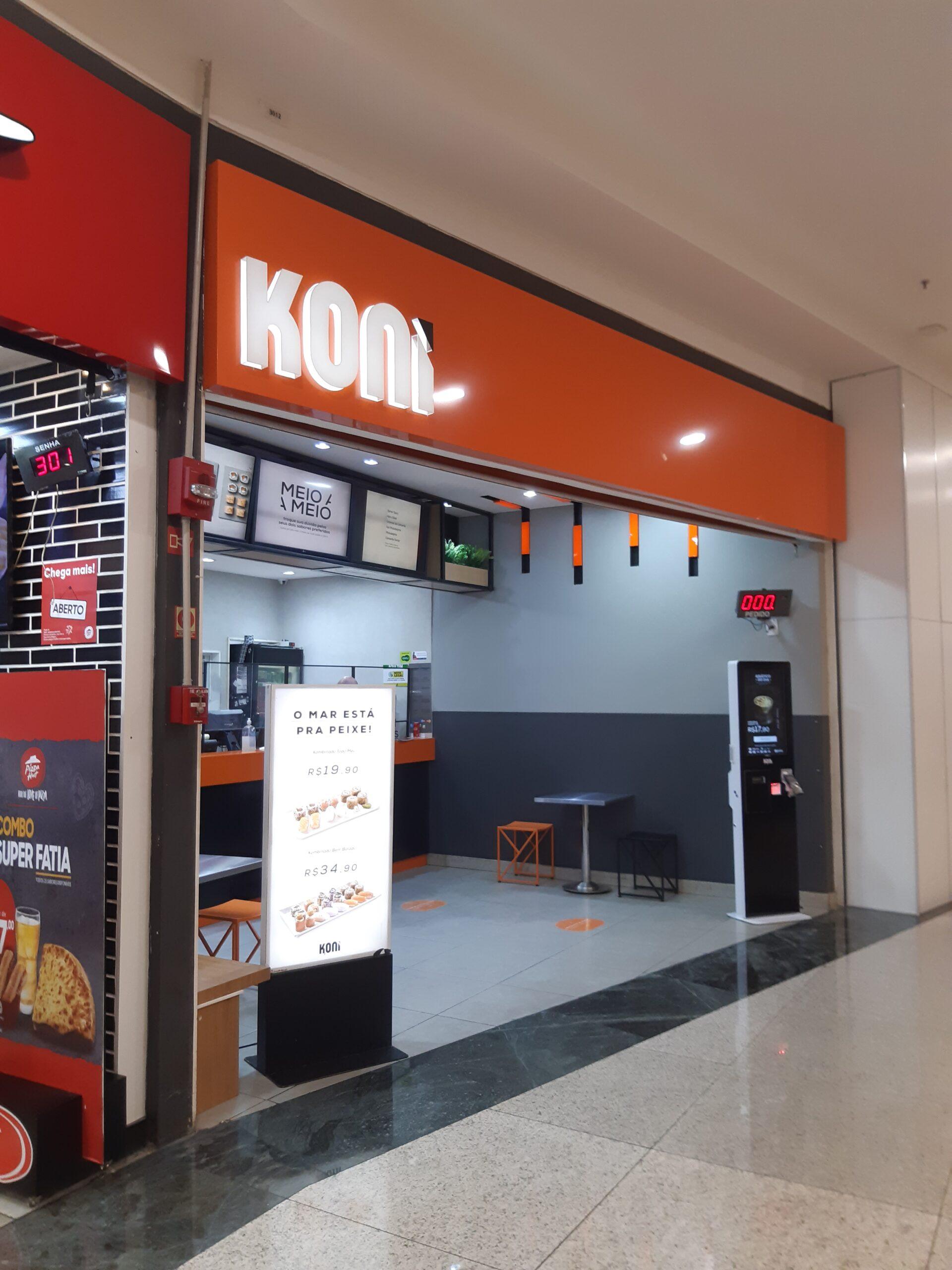 Koni do Taguatinga Shopping, Comércio Brasilia