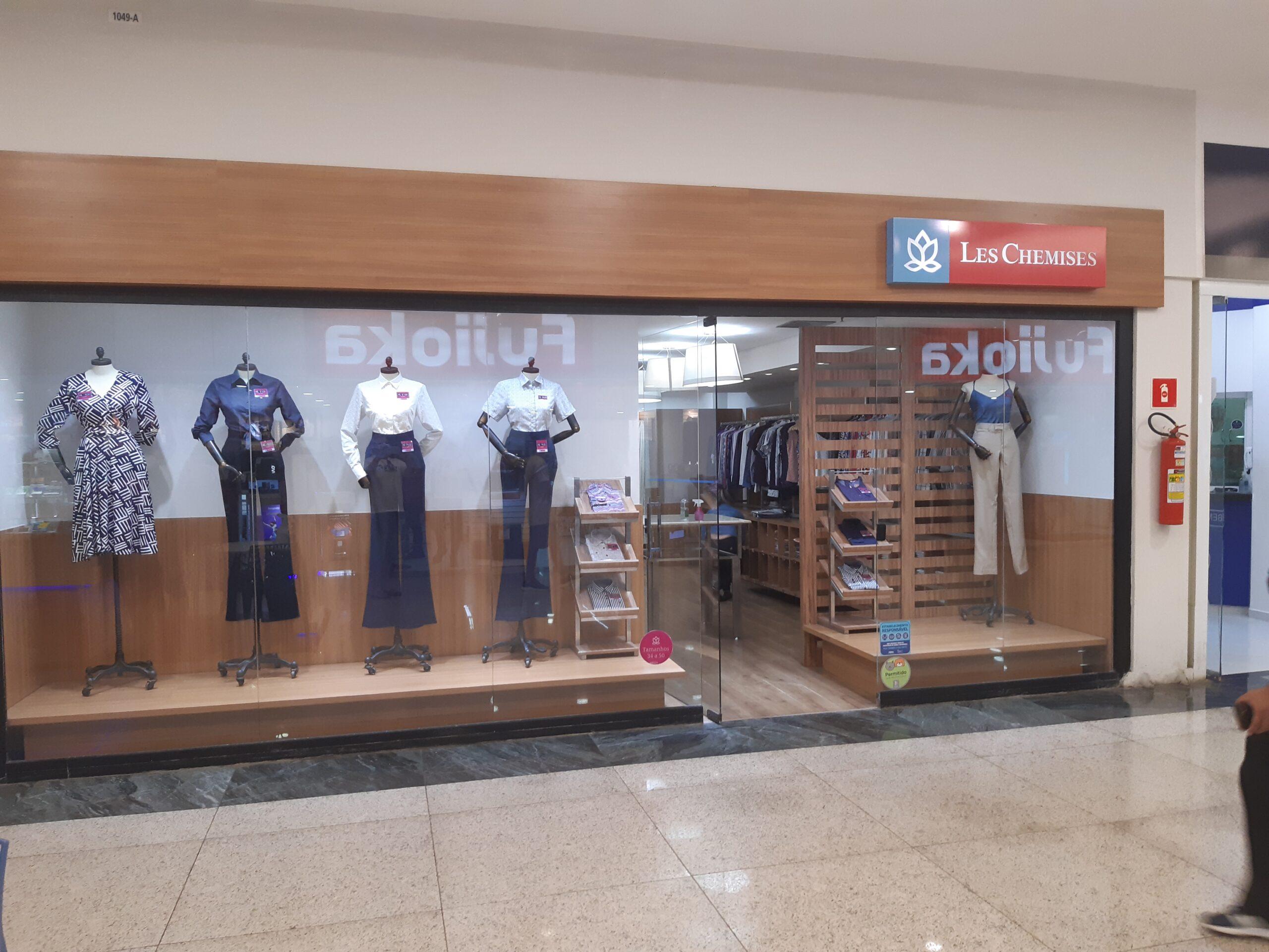 Les Shemises do Taguatinga Shopping, Comércio Brasilia