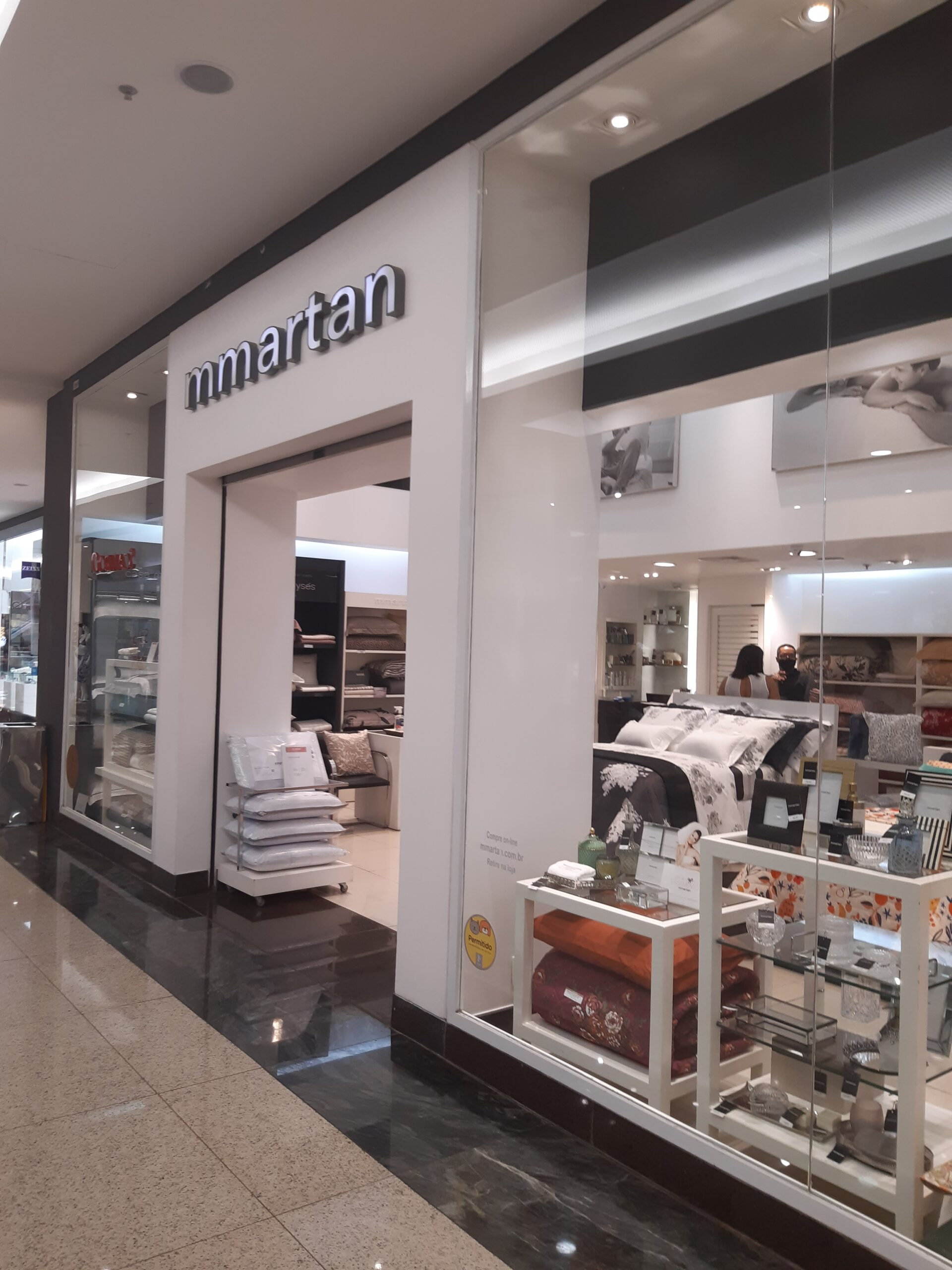 M Martan Taguatinga Shopping, Comércio Brasilia