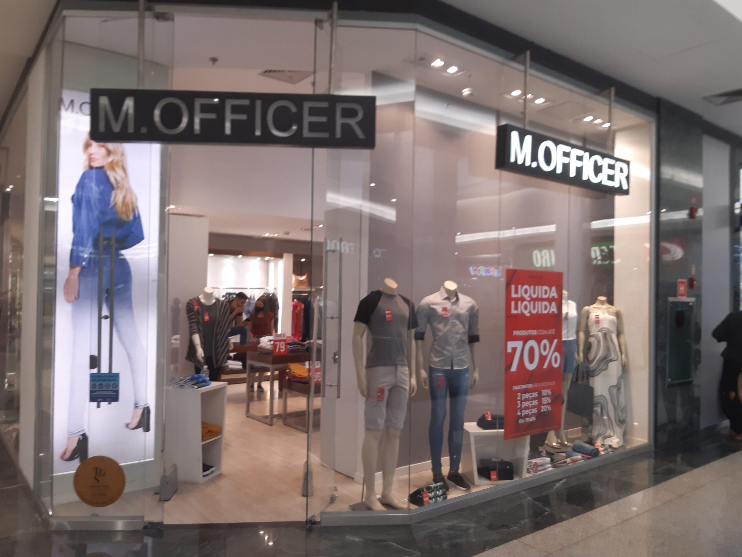 M Officer do Taguatinga Shopping, Comércio Brasilia
