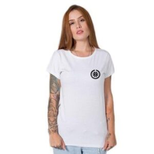 Camiseta Stoned Basic Feminina - Feminino-Branco