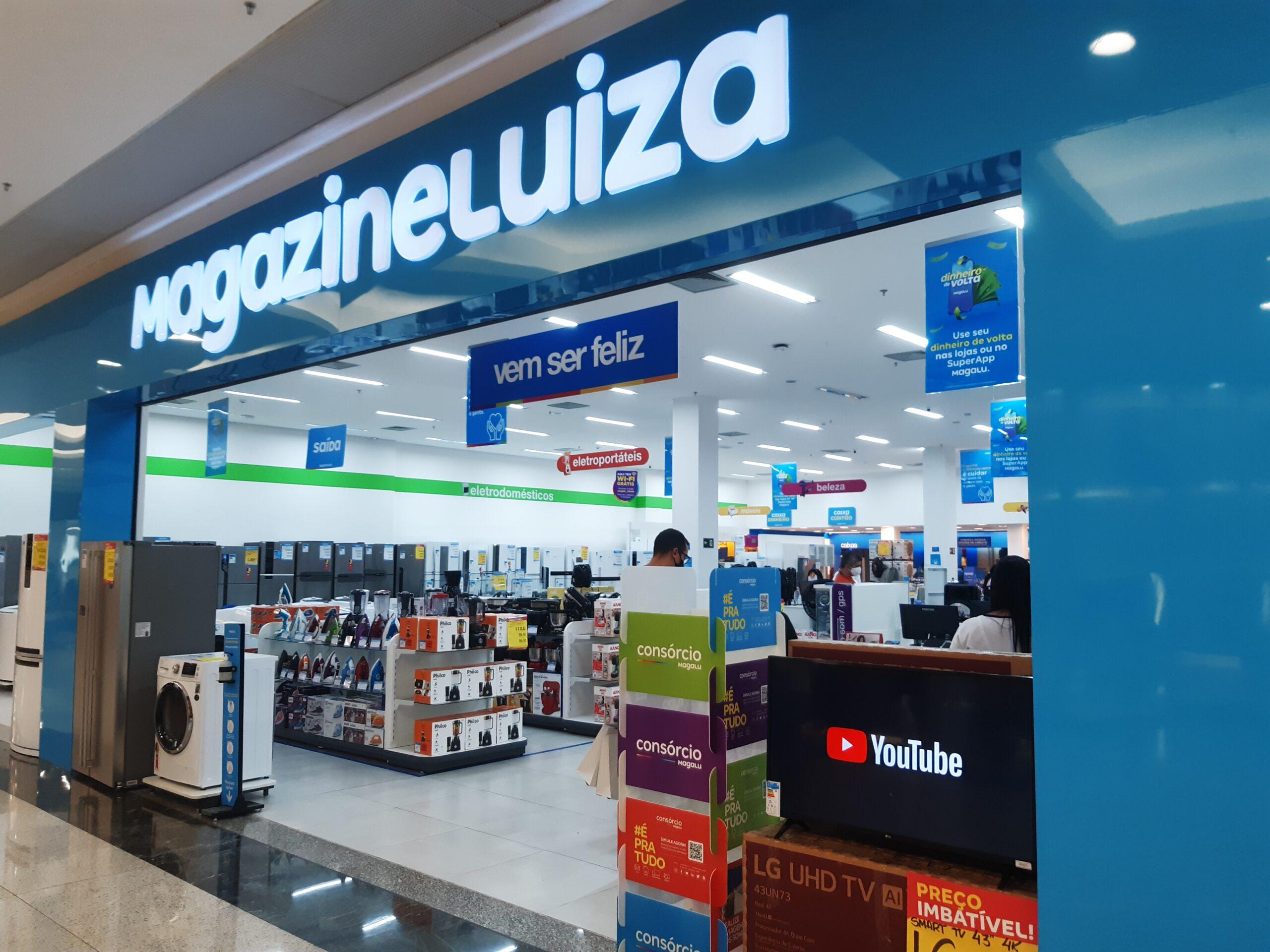 Magazine Luiza do Taguatinga Shopping, Comércio Brasilia