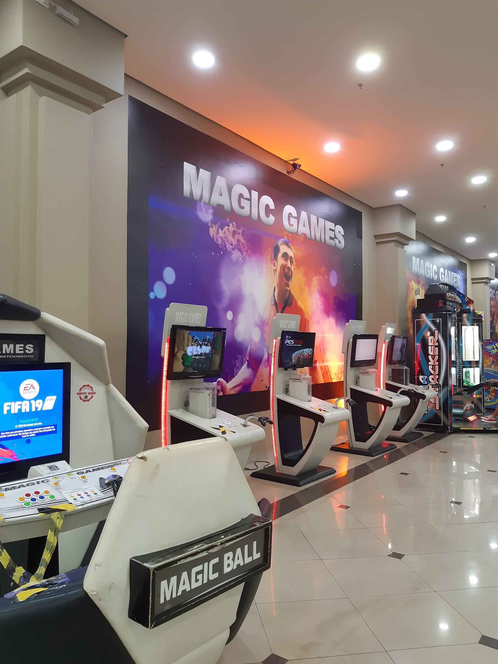 Magic Games do Taguatinga Shopping, Comércio Brasilia