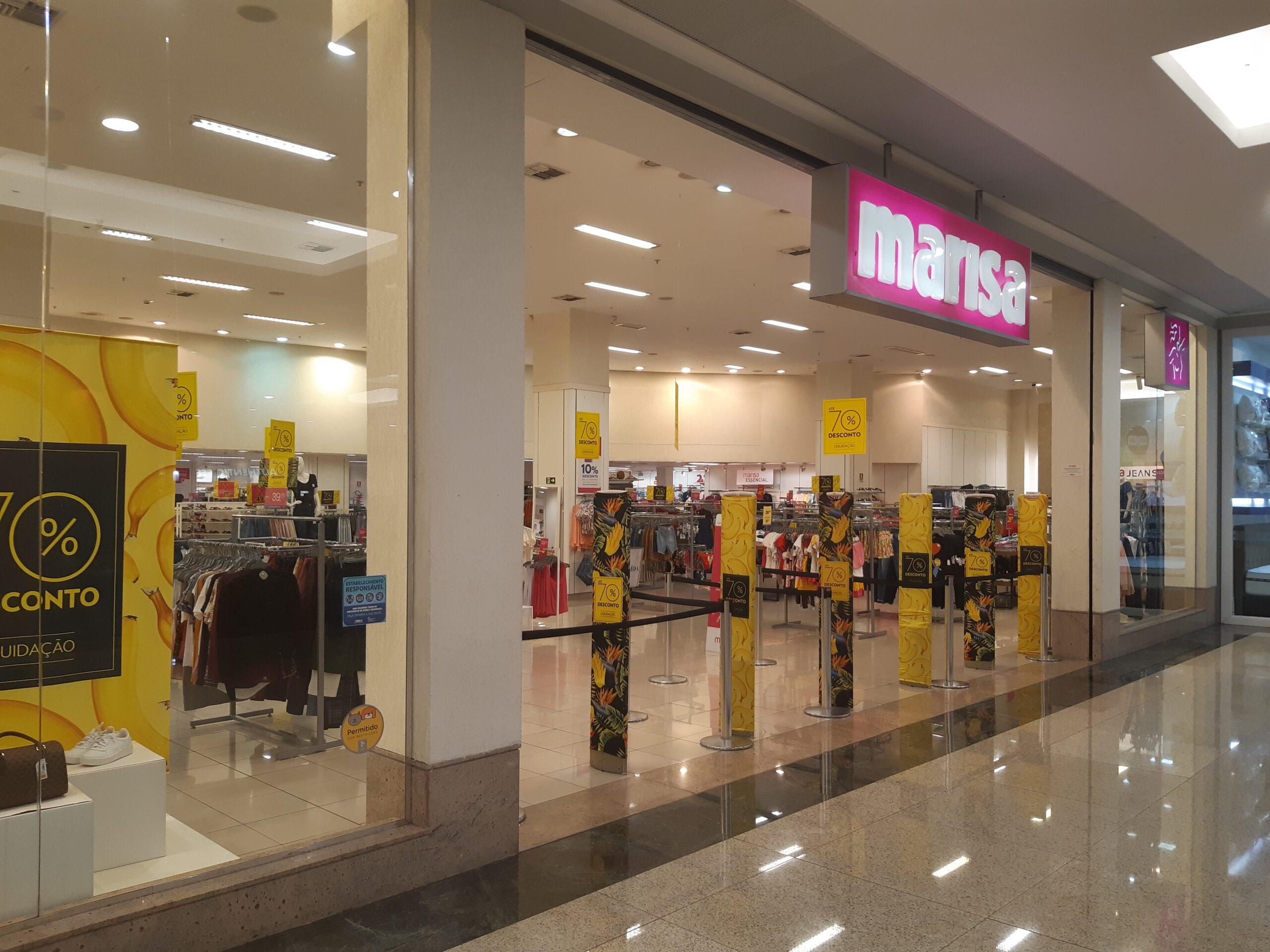 Marisa do Taguatinga Shopping, Comércio Brasilia