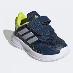 Tênis Infantil Adidas Tensaur Run  Feminino - Unissex-Azul+Prata