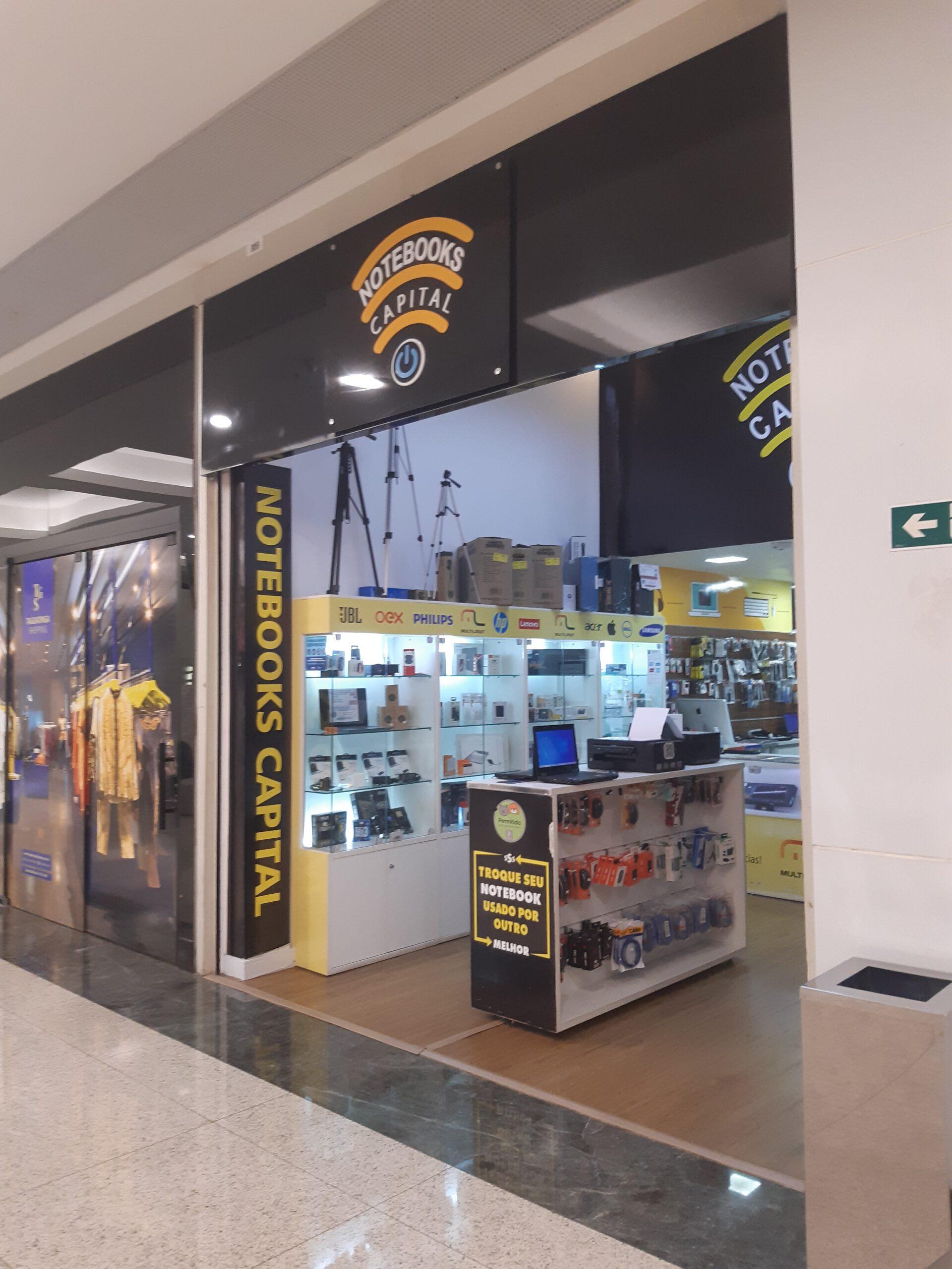 Notebooks Capital Taguatinga Shopping, Comércio Brasilia