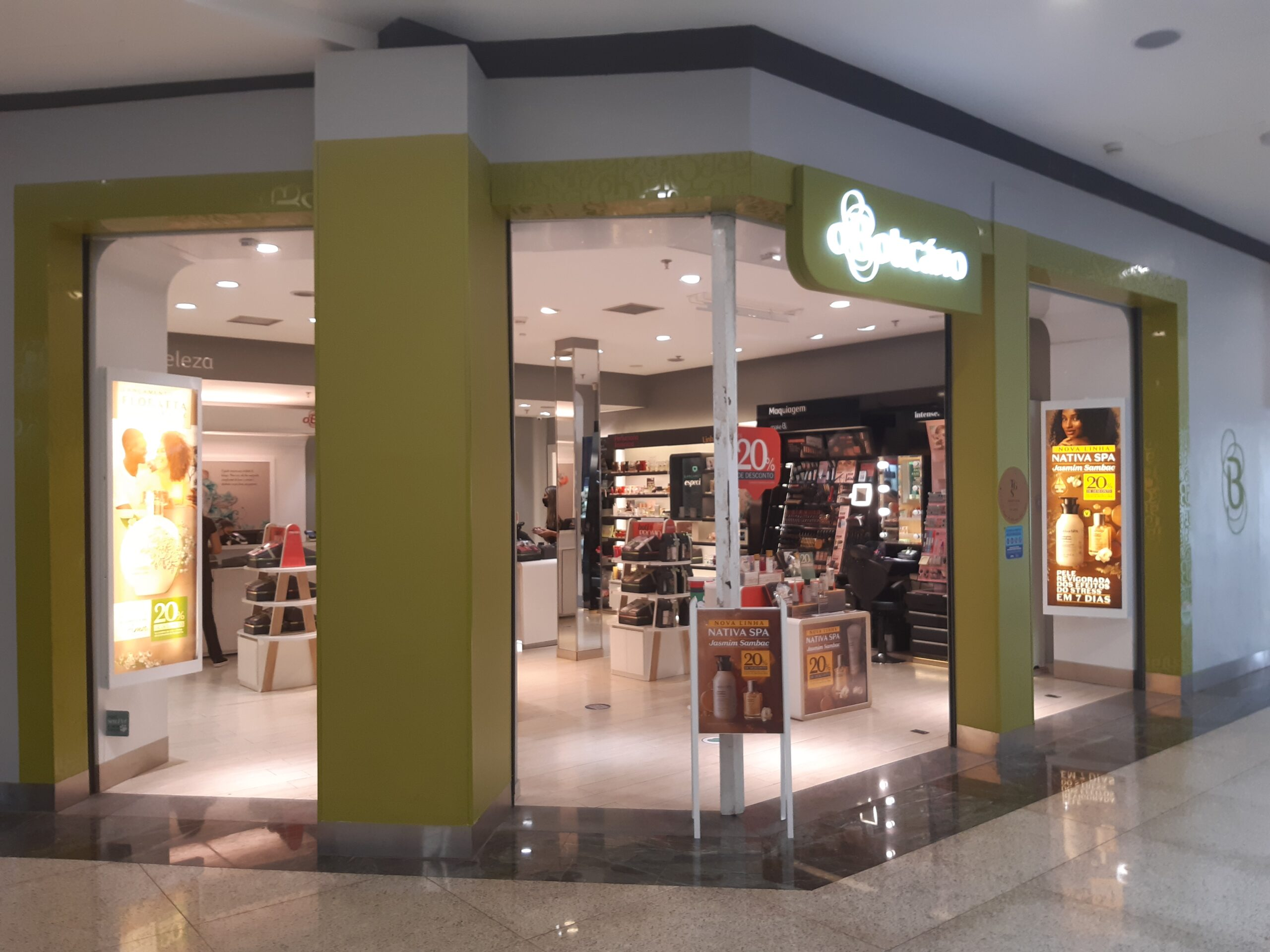 O Boticário do Taguatinga Shopping, Comércio Brasilia
