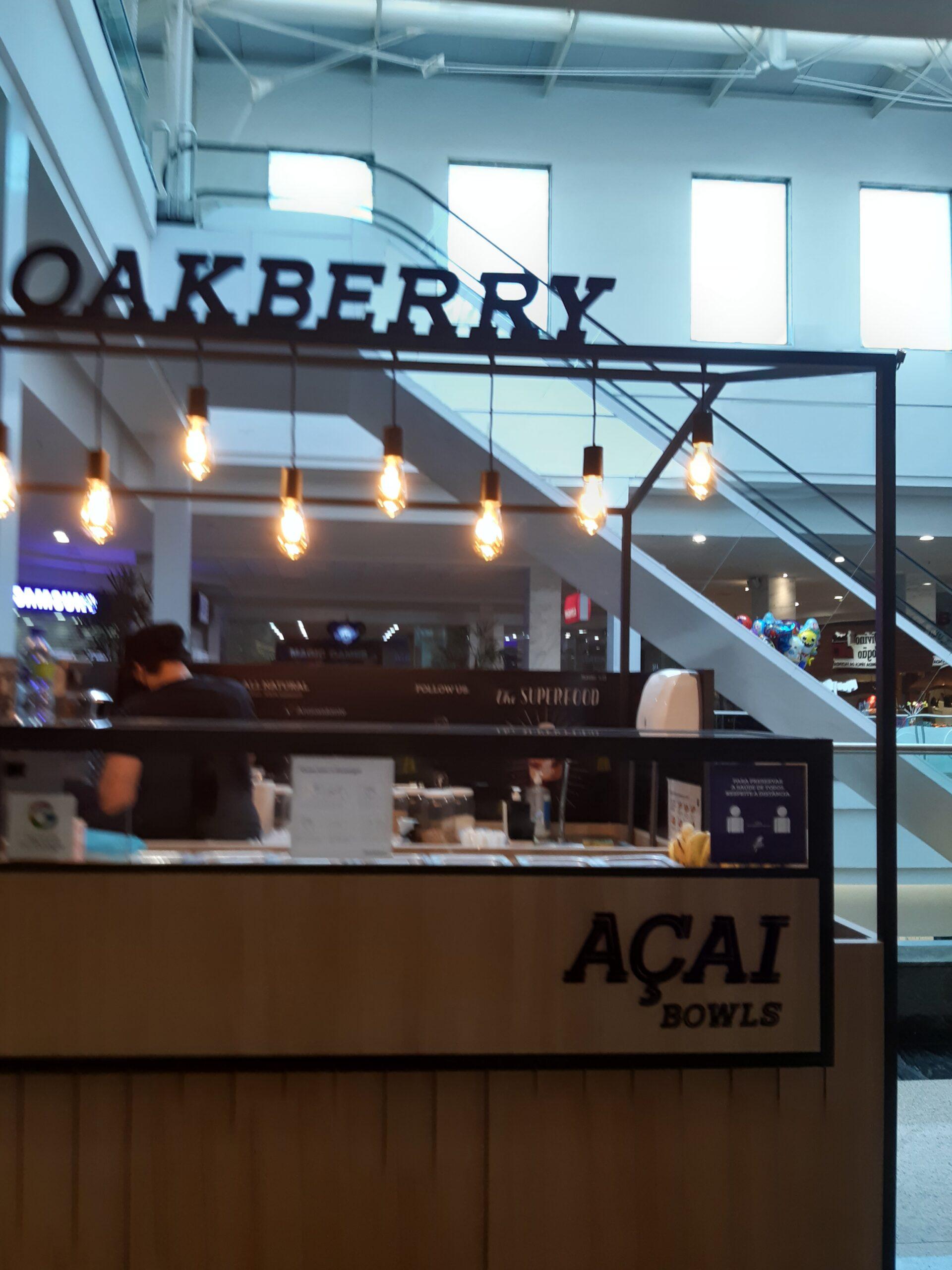 Oakberry do Taguatinga Shopping, Comércio Brasilia