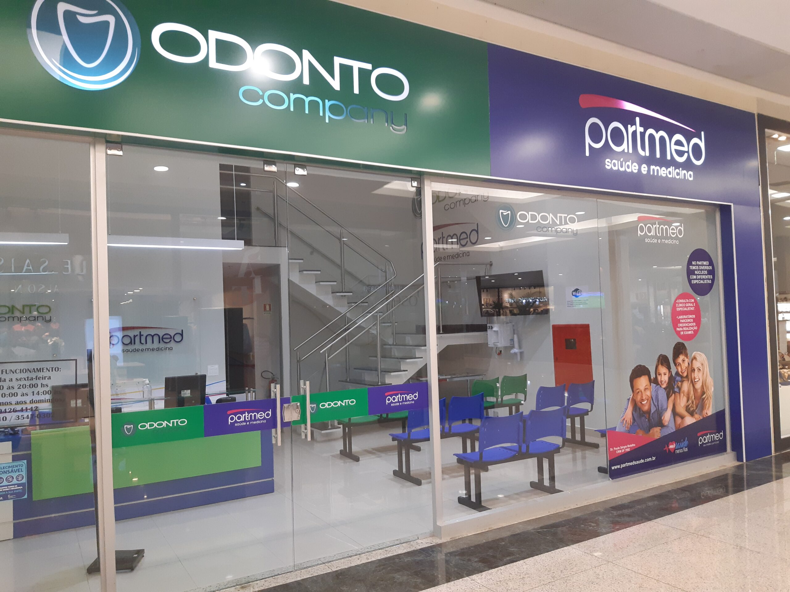 Odonto Company Part Med Taguatinga Shopping, Comércio Brasilia