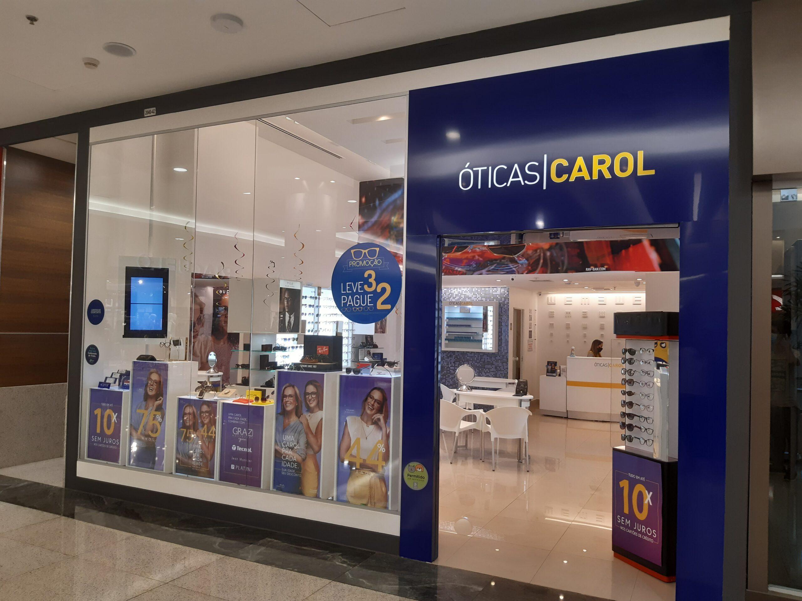 Óticas Carol Taguatinga Shopping, Comércio Brasilia